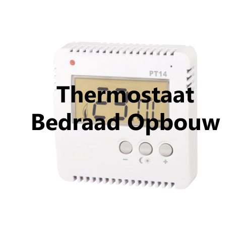 Thermostaat bedraad PT-14