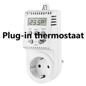 Plug-in thermostaat